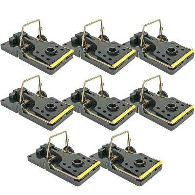Easy Set Mouse Control Rat Snap Trap (8-Pack)