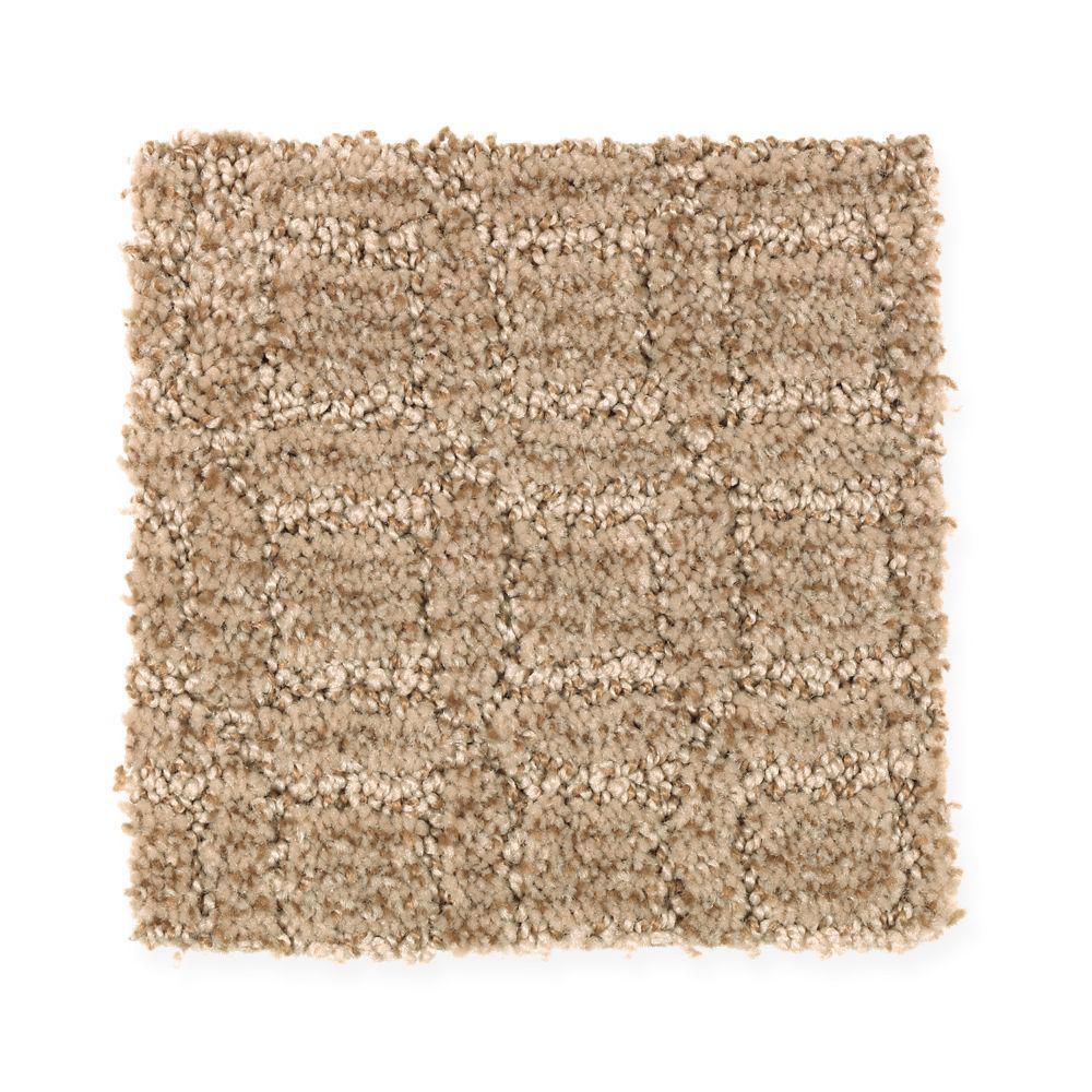 Carpet Sample - New Start I - Color Organic Pattern 8 in. x 8 in.