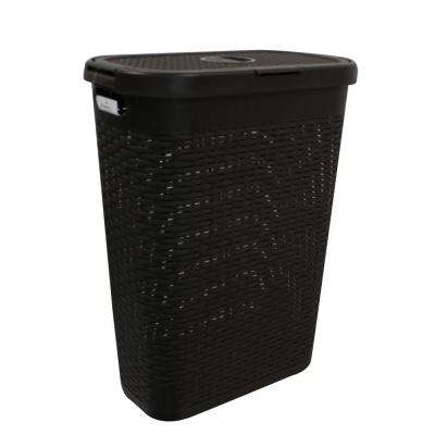 Modern Homes 40 L Laundry Hamper Brown