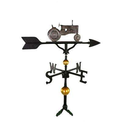 32 in. Deluxe Swedish Iron Tractor Weathervane