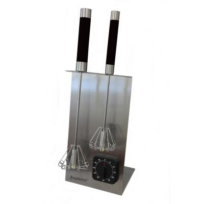 Black Whisk Stand and Timer Set