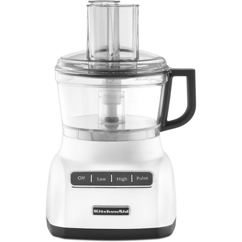 Kitchenaid Exactslice System Food Processor Kfp0711wh The Home Depot