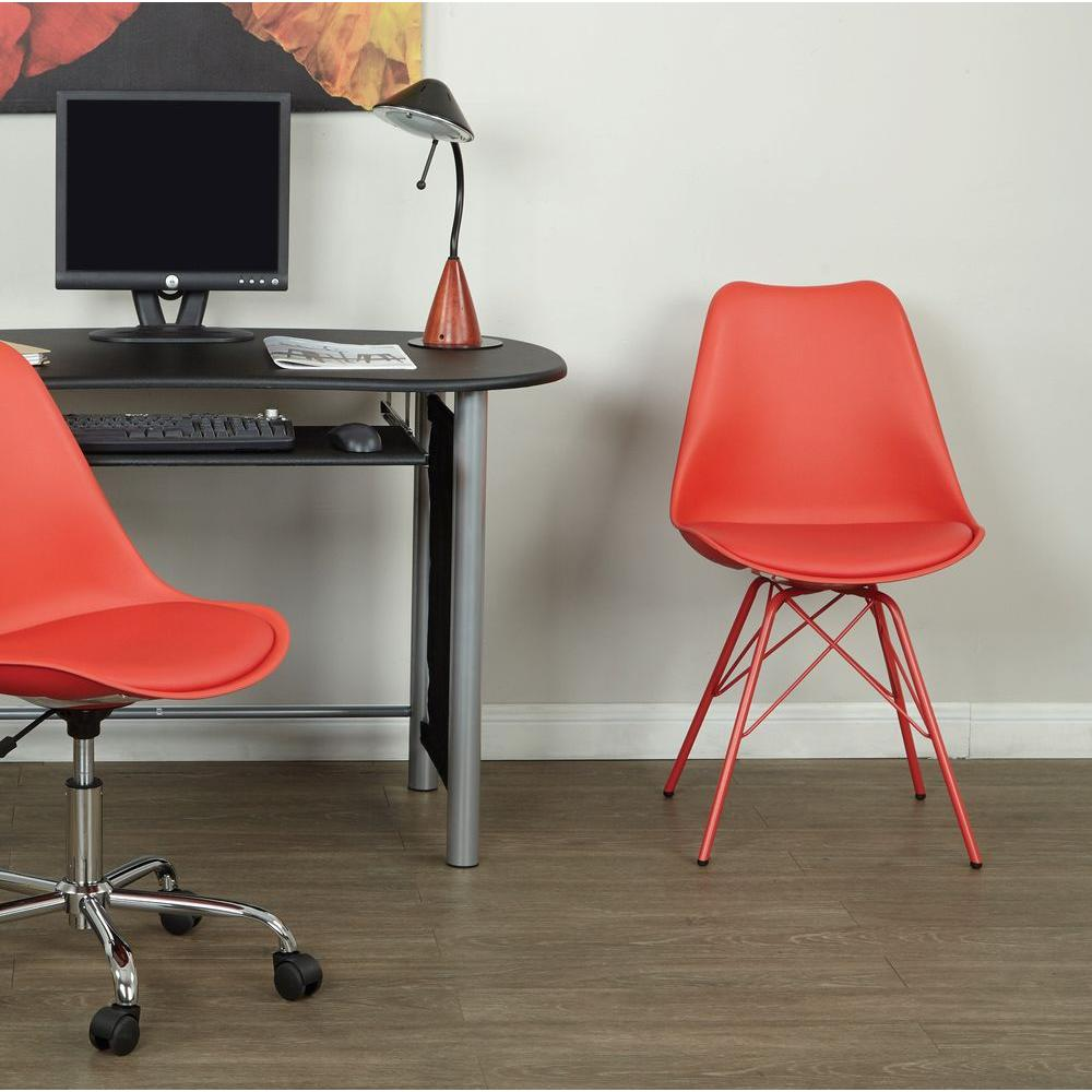Emerson Red Student Side Chair