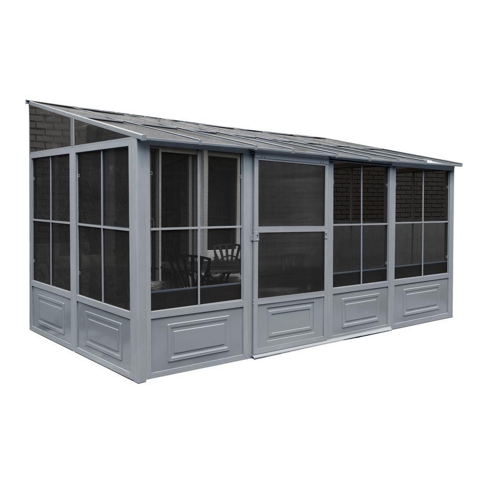 8 ft. x 10 ft. x 16 ft. Aluminum Add-A-Room in