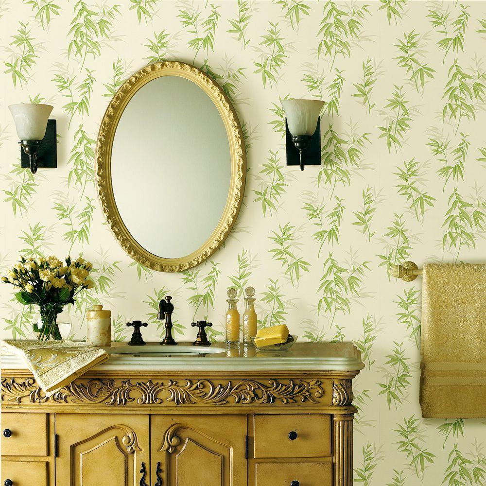 Brewster Bamboo Wallpaper