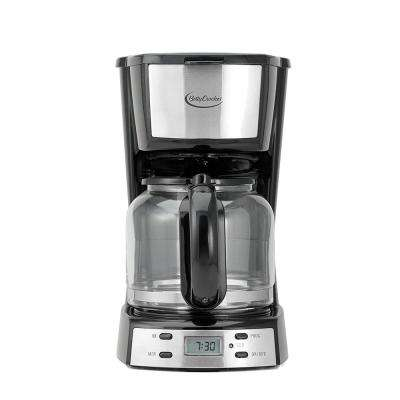 12-Cup Automatic Shutoff Black Coffee Maker