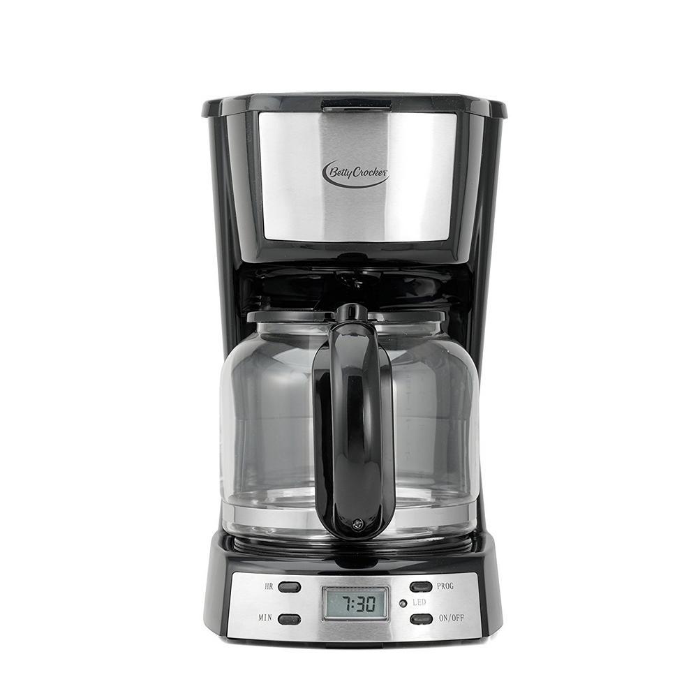 12-Cup Automatic Shutoff Black Coffee Maker