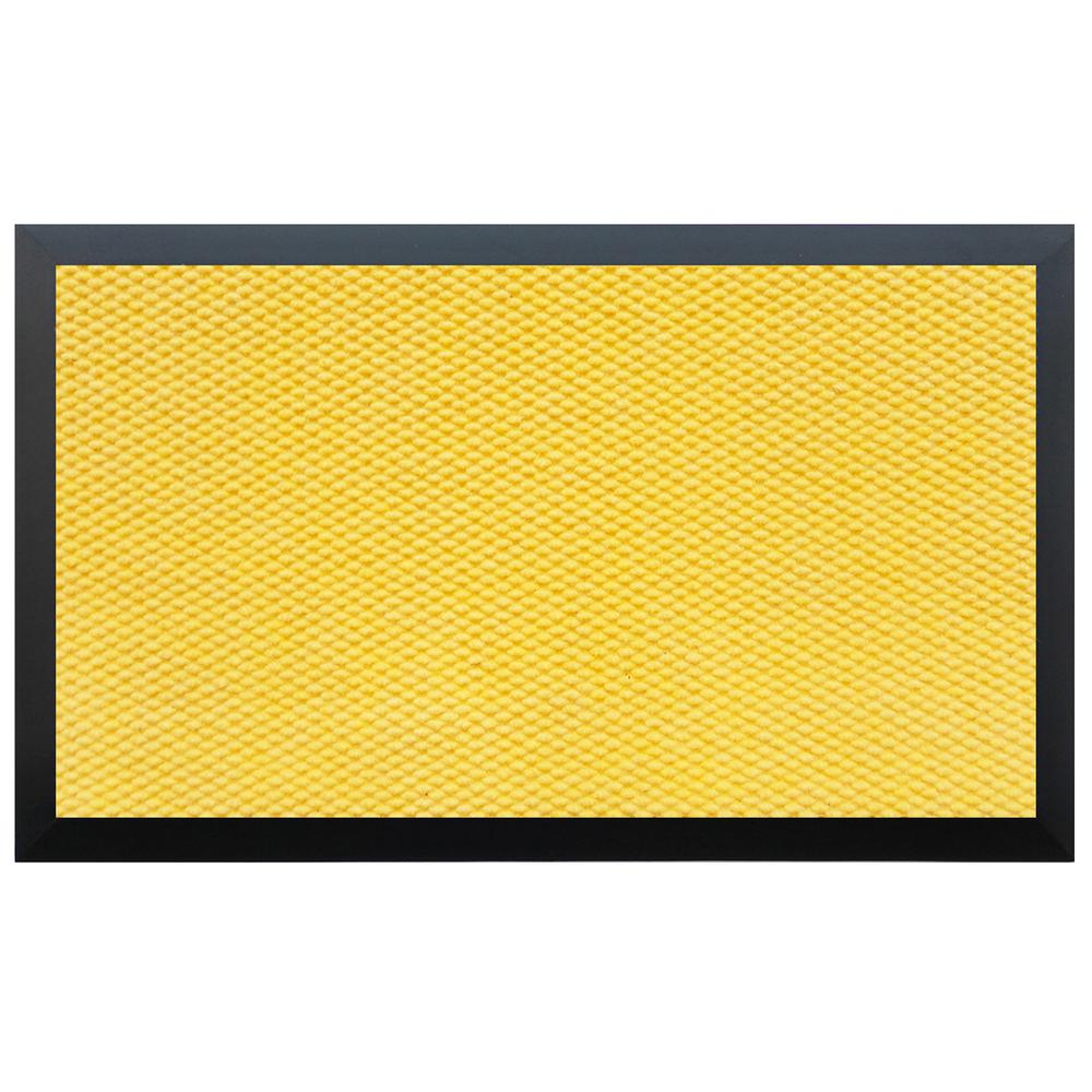 Yellow Kitchen Mats: Home & More Teton Residential Commercial Mat Yellow 48 In