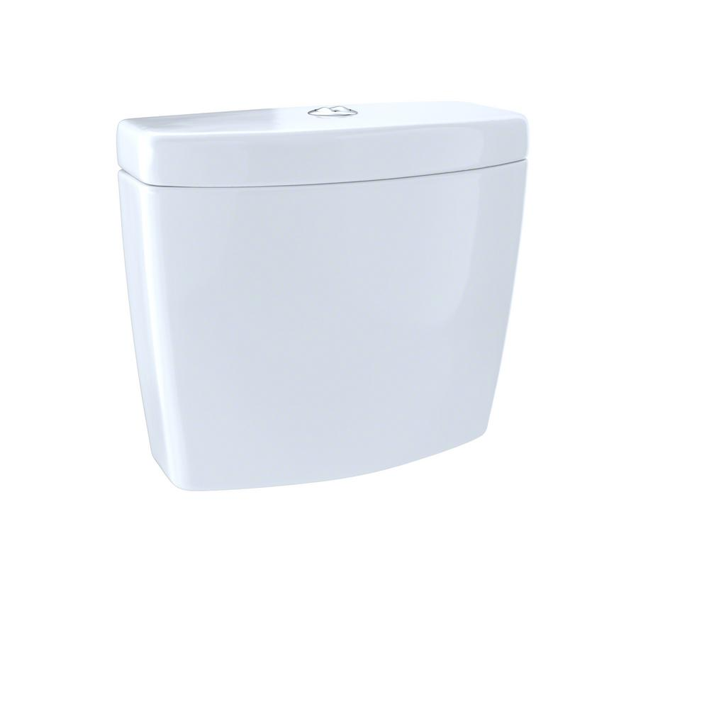 Aquia 0.9/1.6 GPF Dual Flush Toilet Tank Only in Cotton White