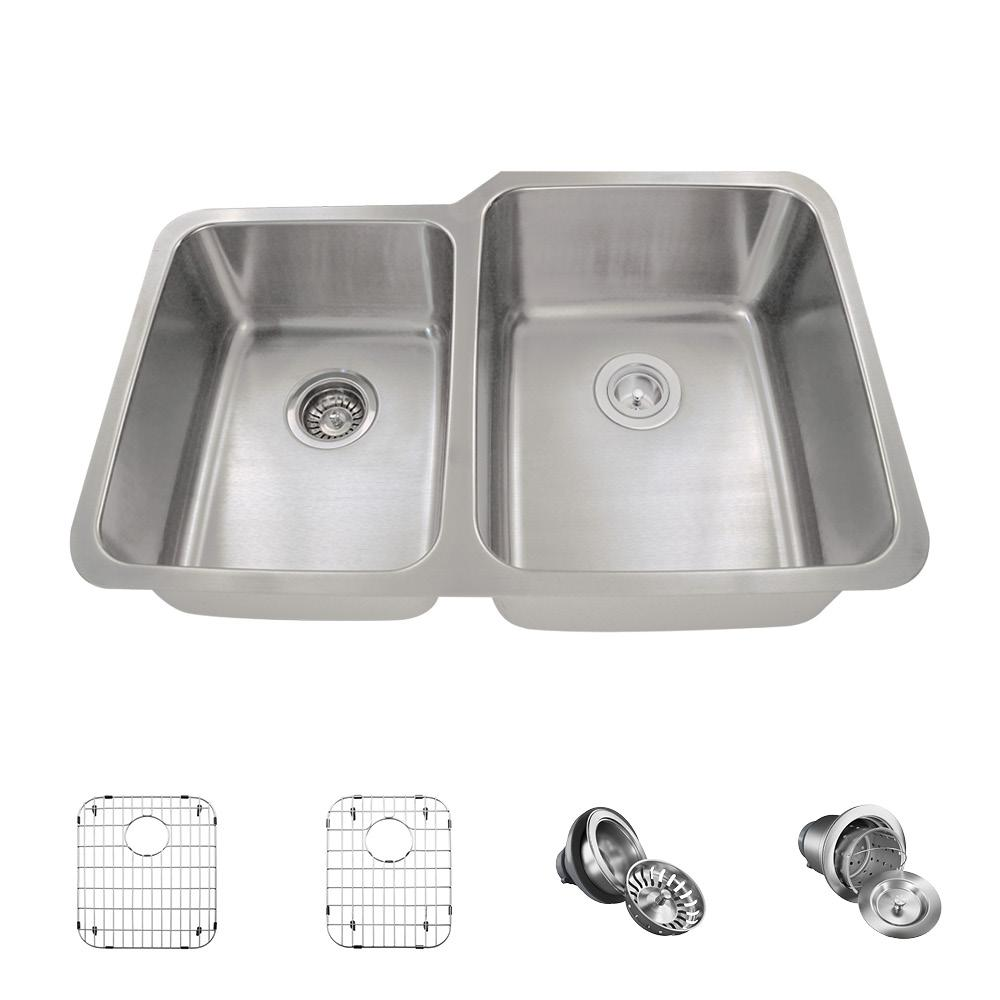 where to buy sinks for kitchen mr direct all in one undermount stainless steel 32 in 2025