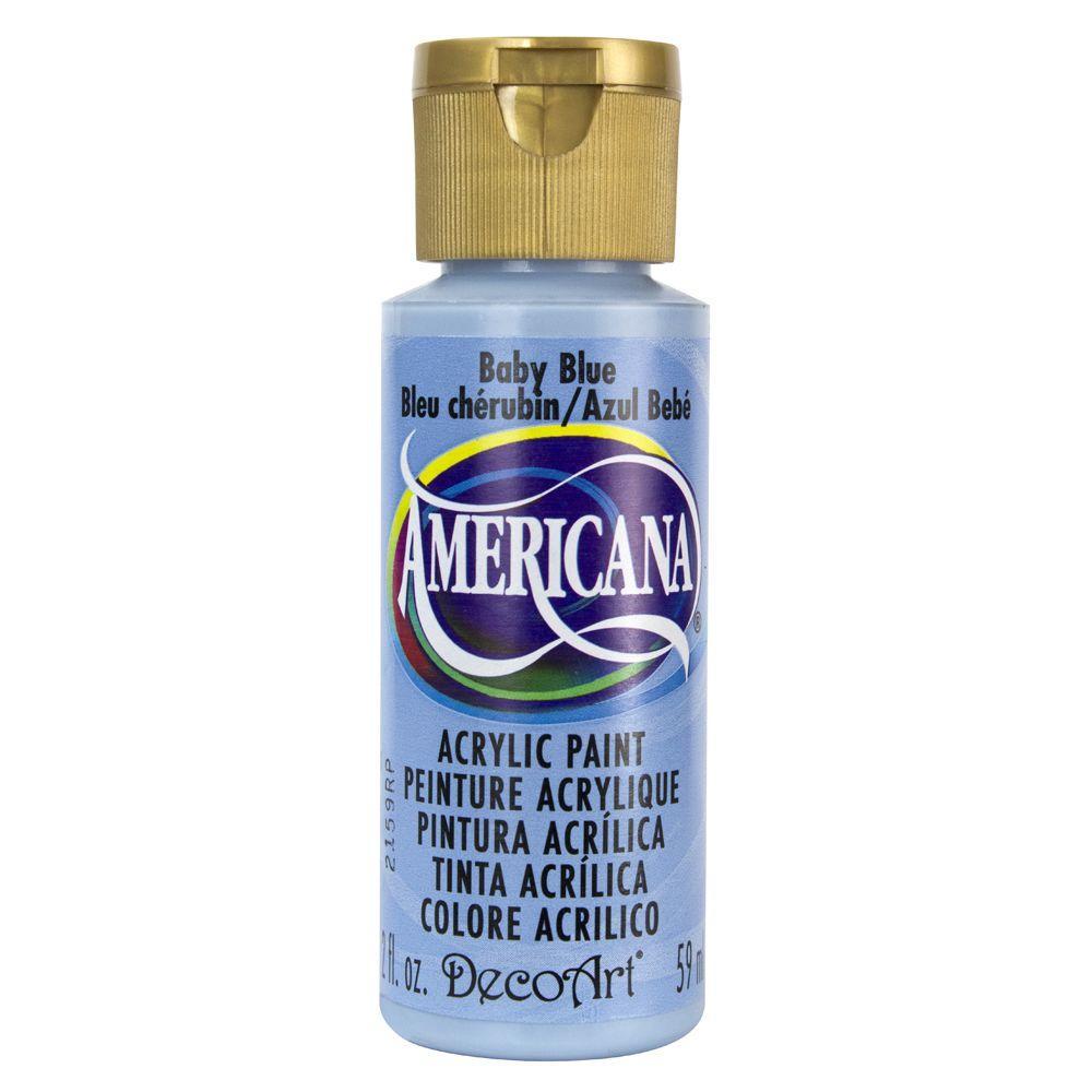 Americana 2 oz. Baby Blue Acrylic Paint