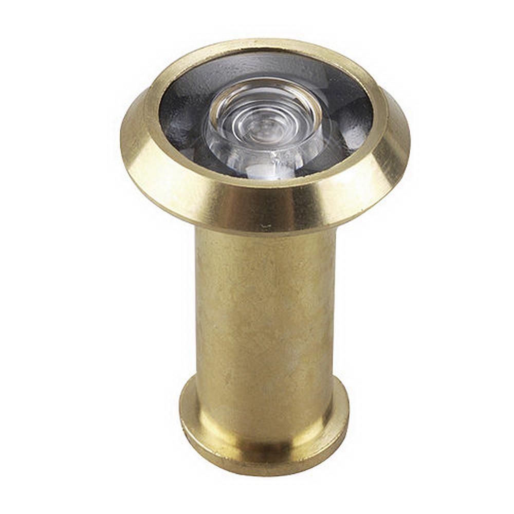 9/16 in. 200-Degree Brass Door Viewer
