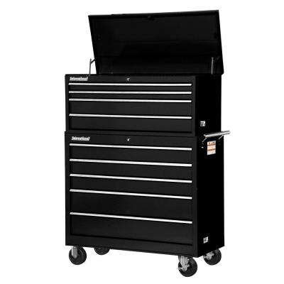 Workshop 42 in. 9-Drawer ToolSet, Black