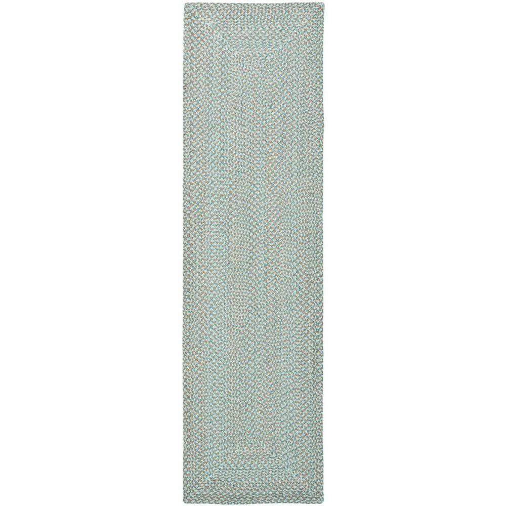Braided Multi 2 ft. 3 in. x 12 ft. Rug Runner