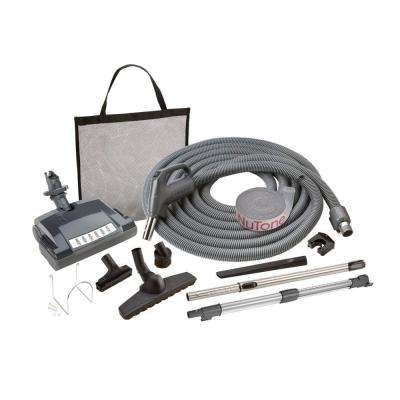Carpet and Bare Floor Electric Direct Connect Central Vacuum System Attachment Set