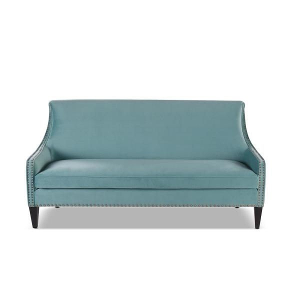 Jennifer Taylor Anya Arctic Blue Accent Sofa 63490-3-894