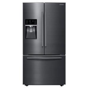 Samsung 28 07 Cu Ft French Door Refrigerator In Black
