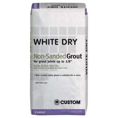 White Dry 25 lbs. Non-Sanded Grout