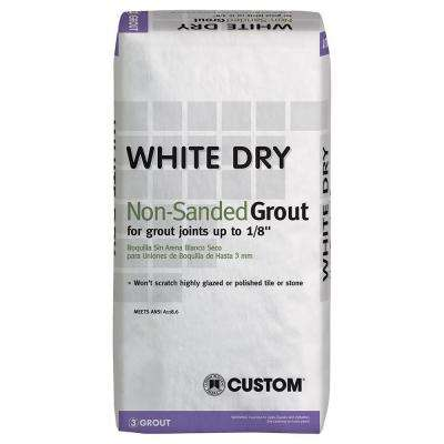 White Dry 25 lb. Non-Sanded Grout