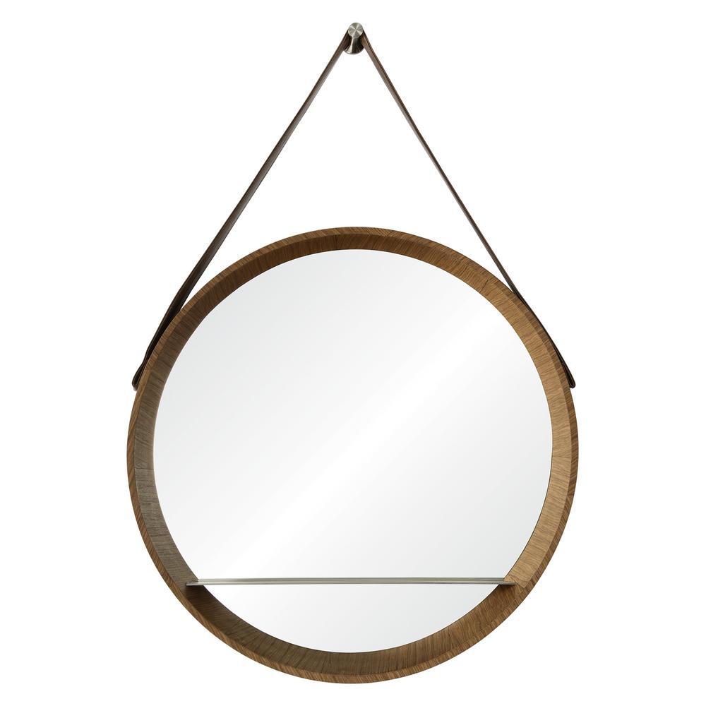 Lenola 38 in. x 26 in. Framed Wall Mirror