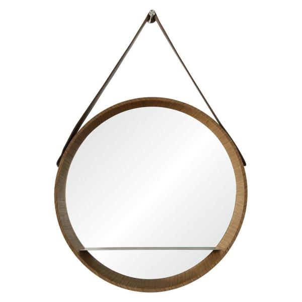 Renwil Lenola 38 in. x 26 in. Framed Wall Mirror MT1826