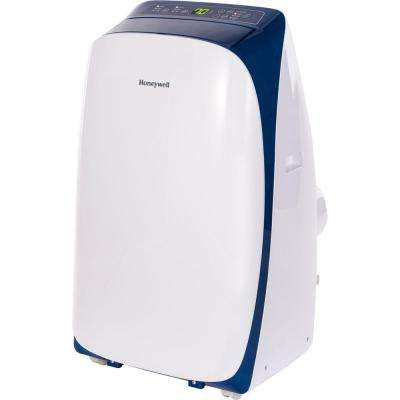 HL Series 12,000 BTU Portable Air Conditioner with Dehumidifier and Remote Control - White/Blue