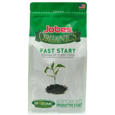 Organic 4 lb. Fast Start Fertilizer