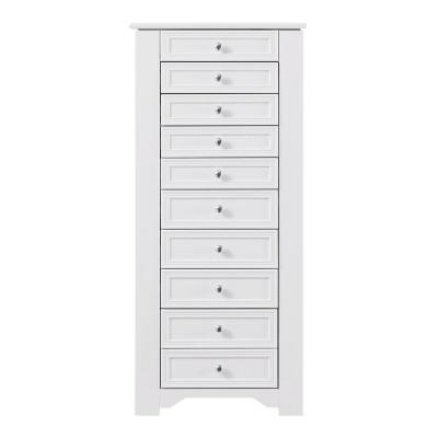 Bradstone White Jewelry Armoire
