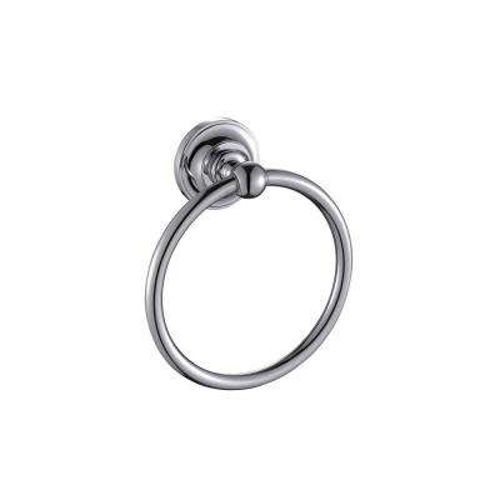 Elysium Towel Ring in Chrome