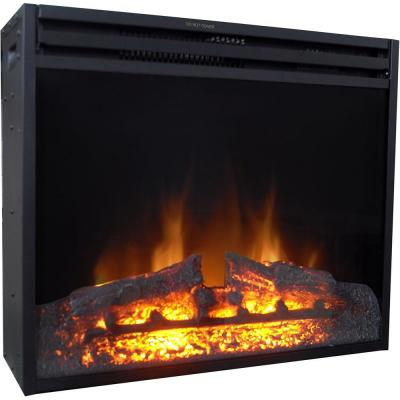 28 in. Freestanding 5116 BTU Electric Fireplace Insert with Remote Control