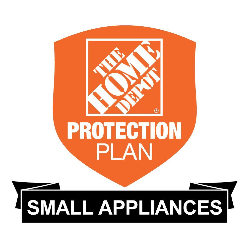 The Home Depot 2-Year Protection Plan for Small Appliances ($50-$99.99) Get peace of mind for all of your home-improvement products with The Home Depot Protection Plan. If your product experiences a covered failure, you will be reimbursed with a Home Depot eGift Card for the full Purchase price of your product, plus tax. After you Purchase your Home Depot Protection Plan, a separate confirmation email will be sent to you. This confirmation will include the terms and conditions and provide instructions on how to file a claim should your product experience a covered failure.