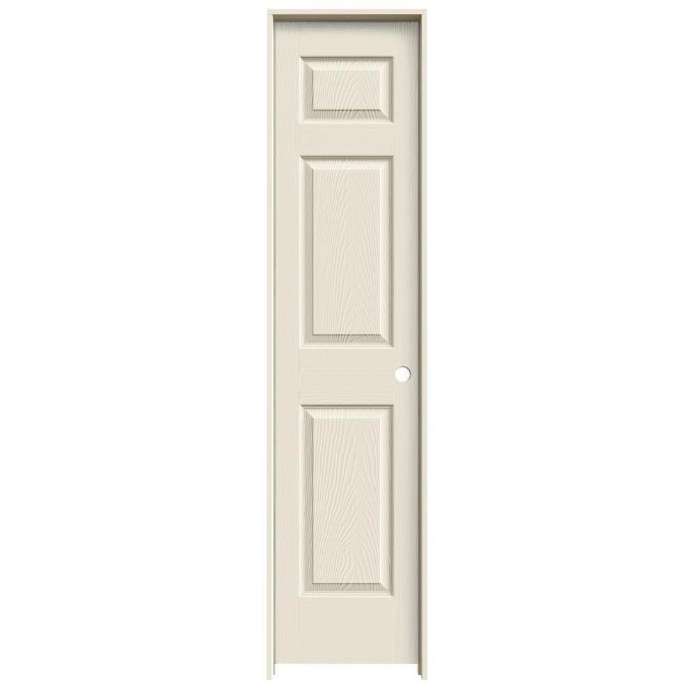 Jeld Wen 18 In X 78 In Colonist Primed Left Hand Textured Molded Composite Mdf Single Prehung