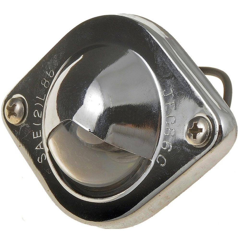 License Plate Light Lens Replacement Dorman# 68181