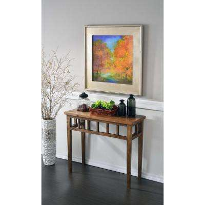 Felicity Toasted Walnut Console Table