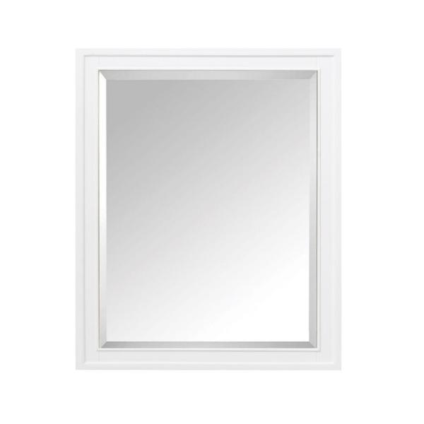 Madison 28 in. Wx 36 in. H x 6-3/10 in. D Framed Surface-Mount 3-Shelf Bathroom Medicine Cabinet in White