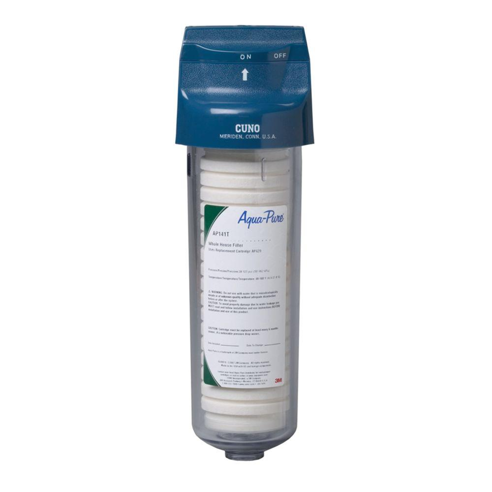 3M Whole House Standard Diameter Water Filtration System ...