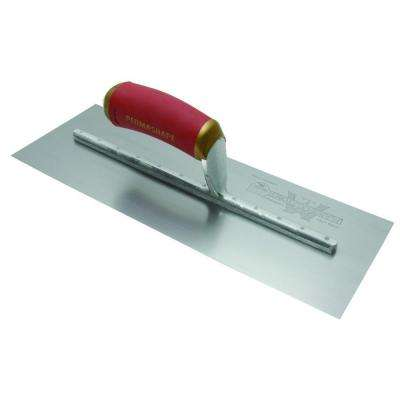 16 in. x 4 in. PermaShape Broken-In Finishing Trowel