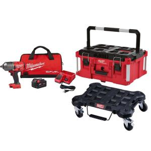 M18 FUEL 18-V Li-Ion 1/2-in Impact Wrench Kit w/Tool Box & Dolly Deals