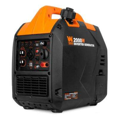 Super Quiet 2,000-Watt Gas-Powered Portable Inverter Generator, CARB Compliant