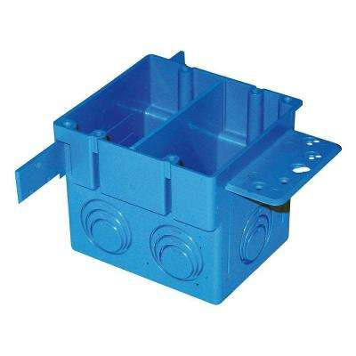2-Gang 38 cu. in. Square ENT Electrical Box