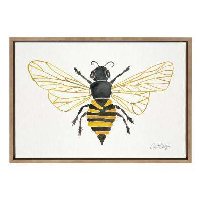 "Sylvie ""Honey Bee"" by Cat Coquillette Framed Canvas Wall Art"