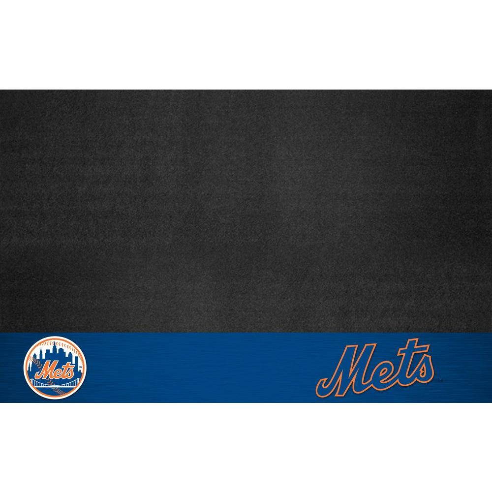 FANMATS New York Mets 26 in. x 42 in. Grill Mat