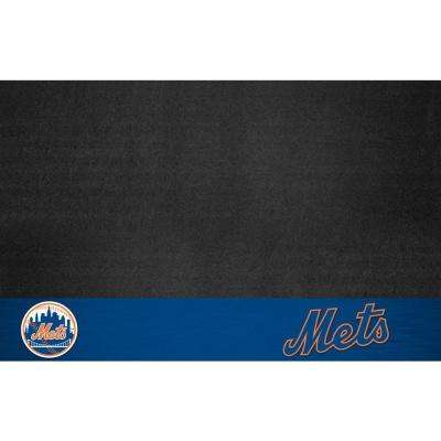 New York Mets 26 in. x 42 in. Grill Mat