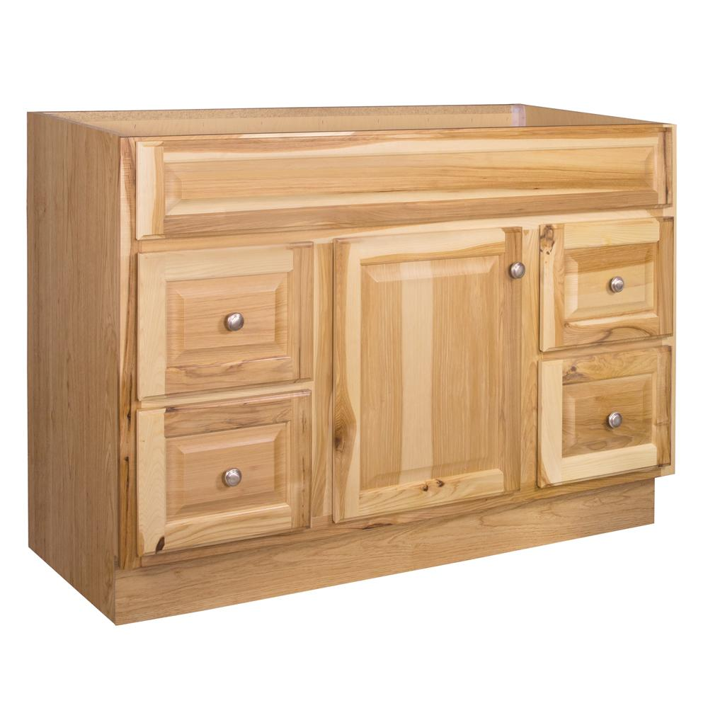 H Bathroom Vanity Cabinet Only In Hickory