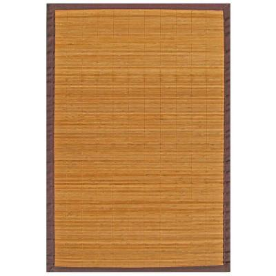 Villager Natural Light Brown 6 ft. x 9 ft. Area Rug