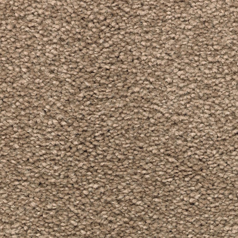 Mohawk Unblemished Ii Color Sandalwood Textured 12 Ft Carpet