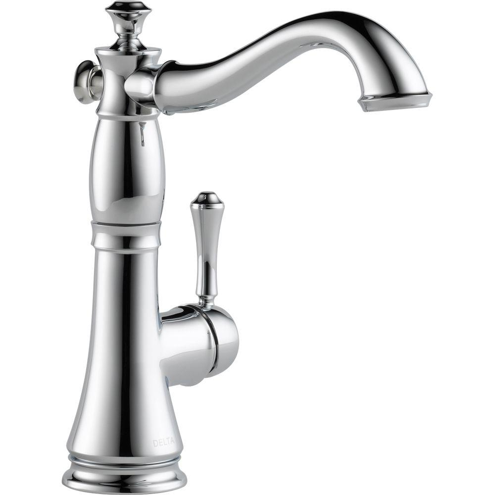 Delta Cassidy Single Handle Bar Faucet In Chrome 1997lf The Home Depot