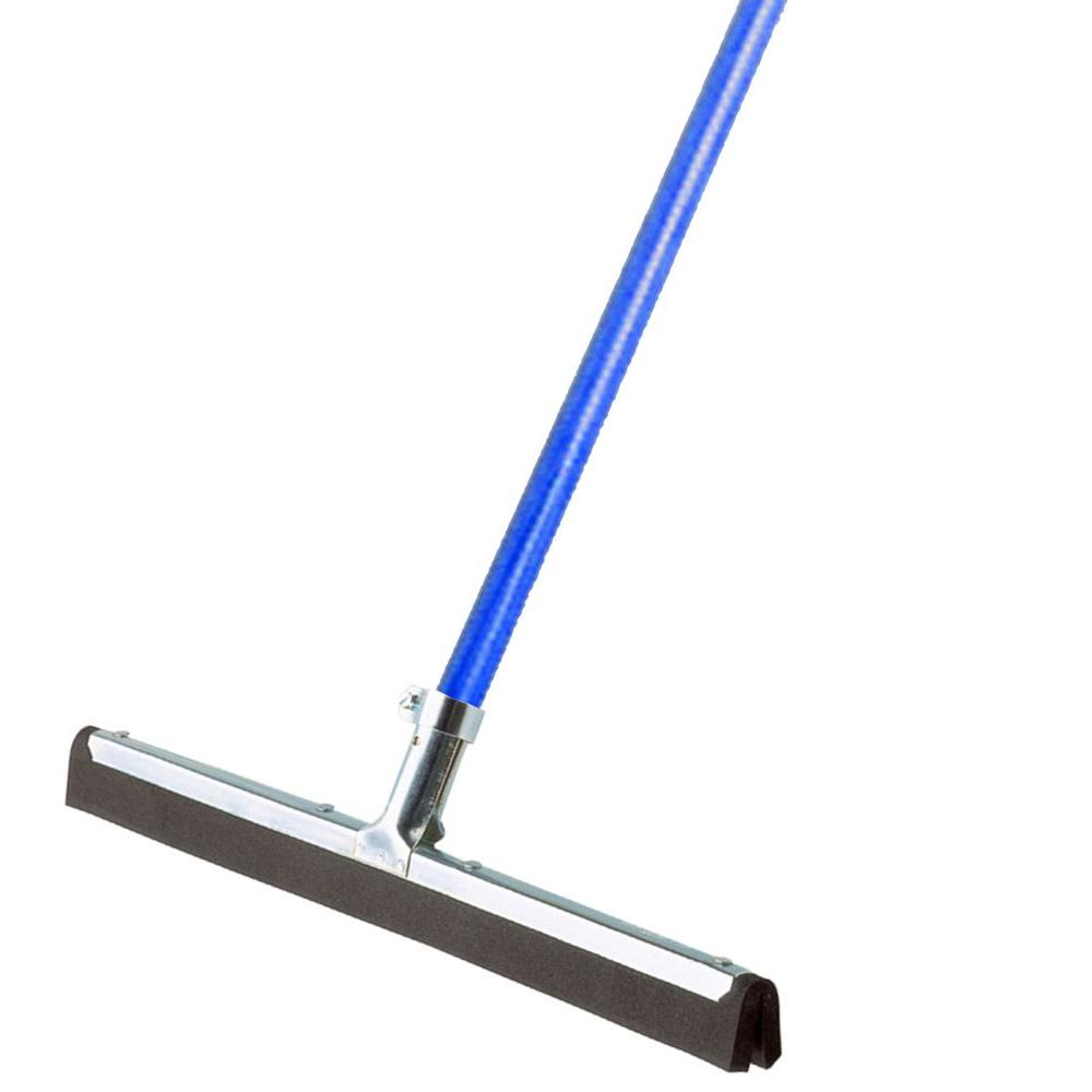 Ettore Wipe N 18 In Dry Floor Squeegee With 53 In Handle