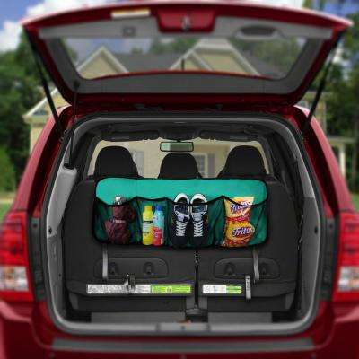 E-Z Travel Water Resistant 35 in. x 14 in. 4-Pockets Multi-Functional Oxford Car Trunk Organizer