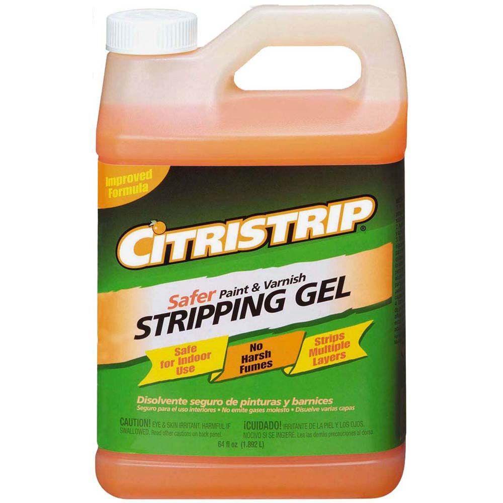 Citristrip 1/2 gal. Safer Paint and Varnish Stripping Gel by Citristrip